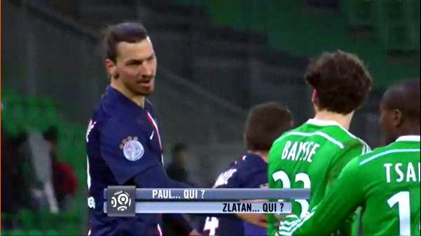 Zlatan Ibrahimovic Paul Baysee shirt who are you
