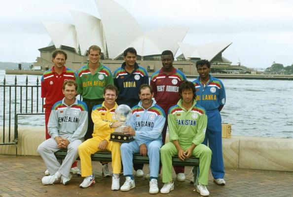 1992 World Cup captains