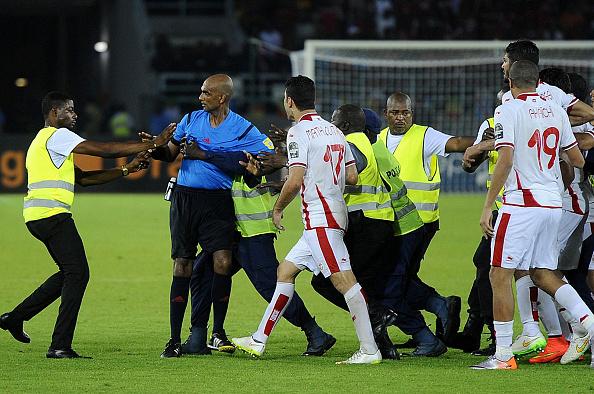 AFCON Equatorial Guinea Tunisia referee banned