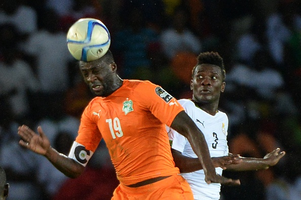African Cup of Nations Yaya Toure Asamoah Gyan