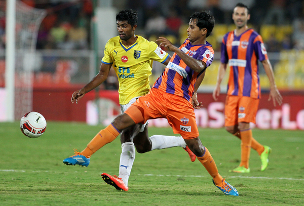 FC Pune City defender Anupam Sarkar