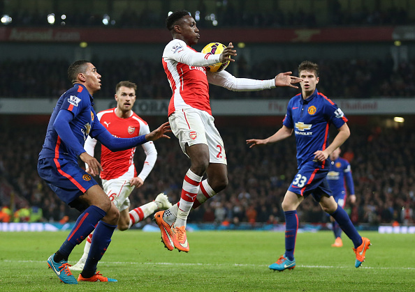 Arsenal Manchester United FA Cup quarter-final