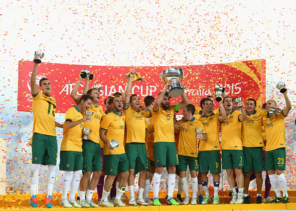AUS 2015 AFC Asian Cup Champions