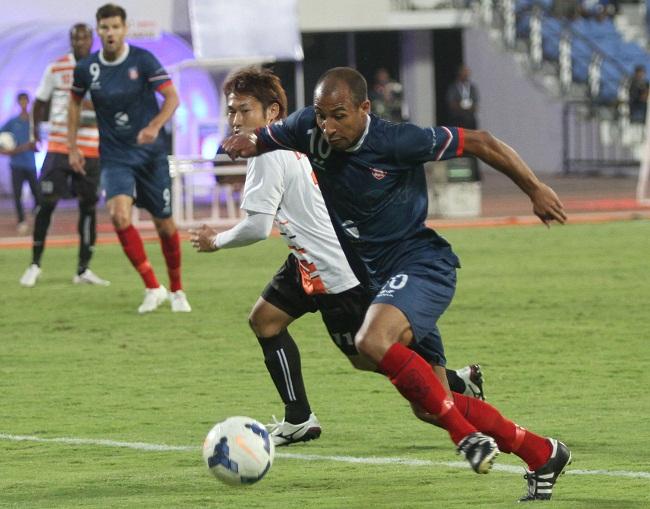 BHARAT FC GO DOWN 0-2 TO MUMBAI FC
