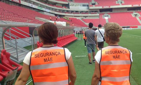 Brazil football security moms