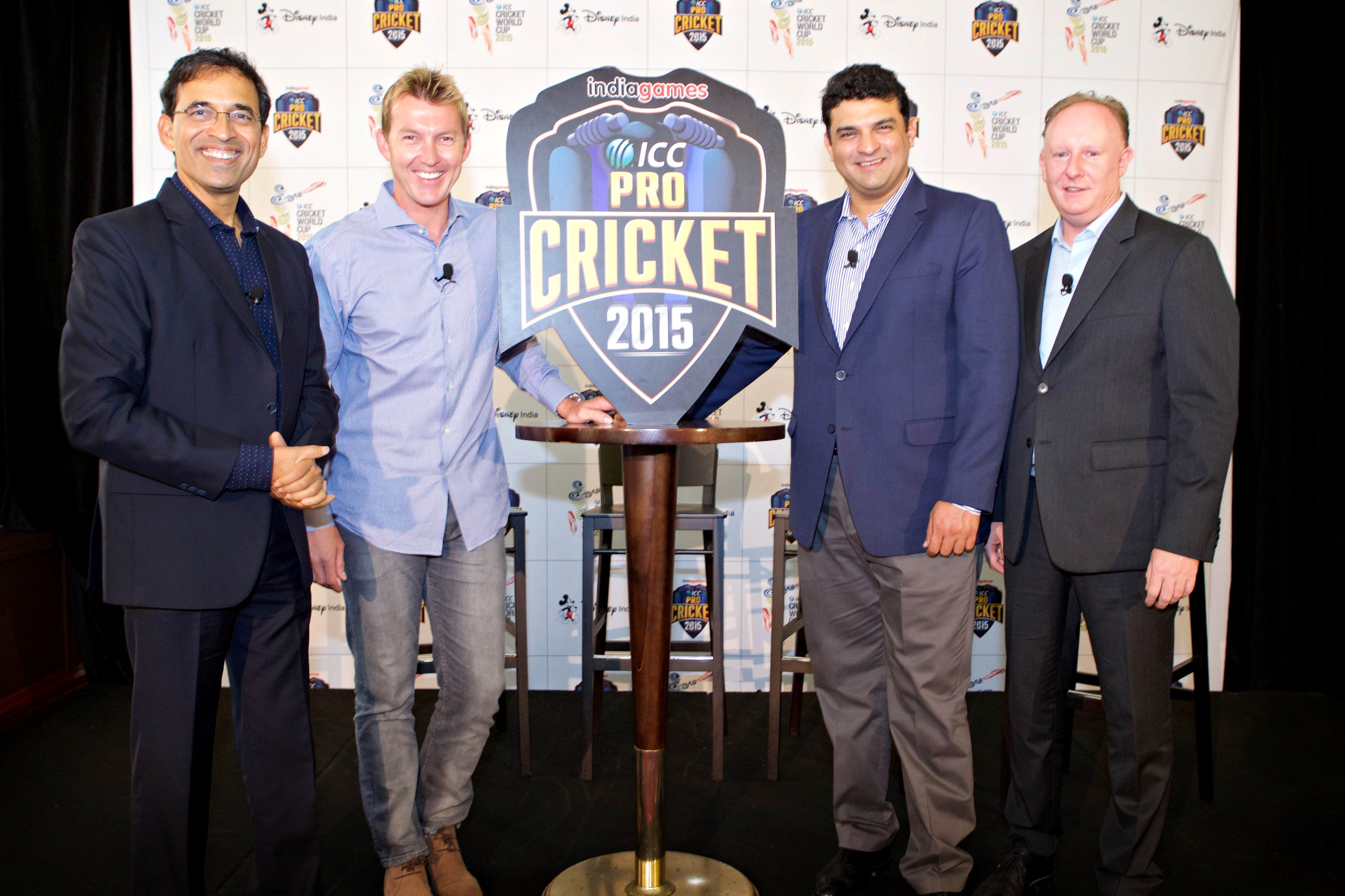 Brett Lee Harsha Bhogle
