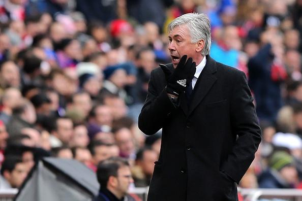 Carlo Ancelotti Madrid derby