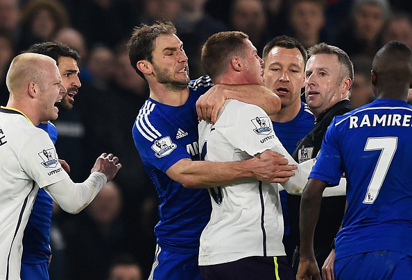Chelsea Everton charged FA ivanovic mccarthy