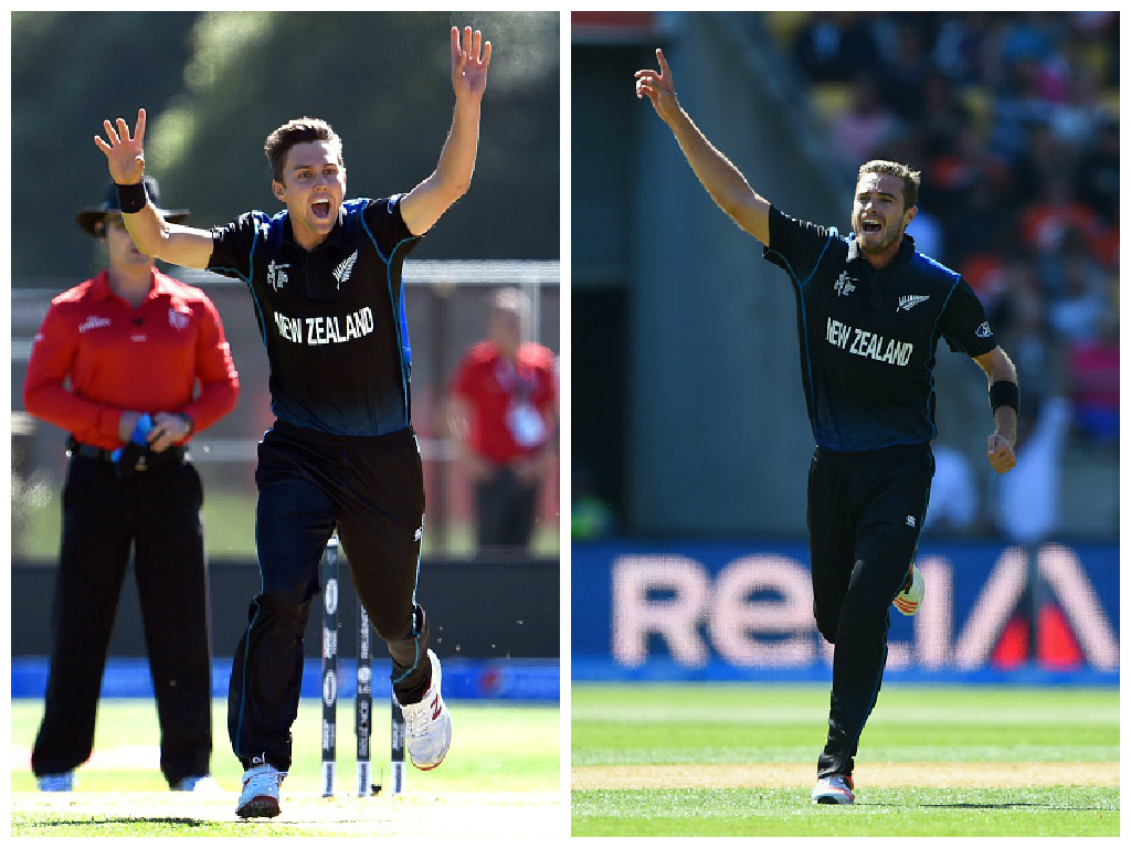 Trent Boult Tim Southee
