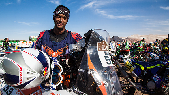 India 39 s number one off road racer c s santosh targets top for Cross country motor club phone number