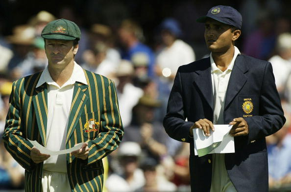 Steve Waugh Sourav Ganguly