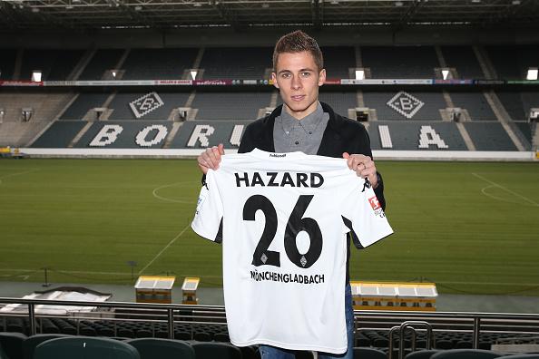 Eden Hazard Borussia Moenchengladbach