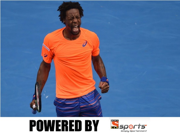 Monfils started the Australian Open with an absolute thriller