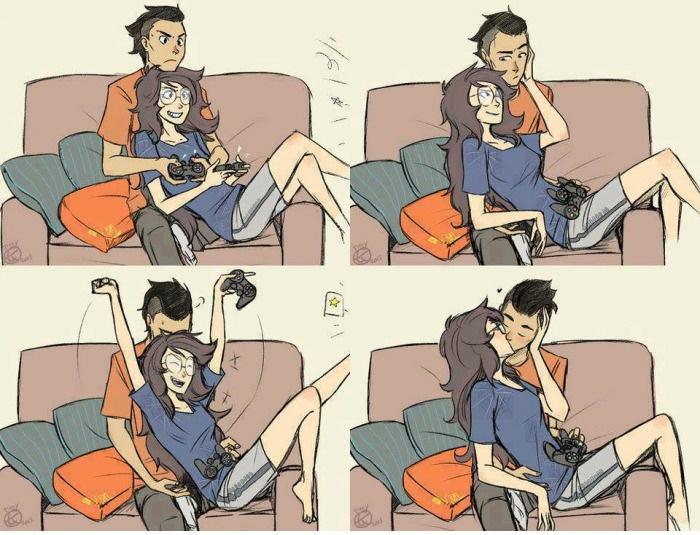 Dating für Gamer