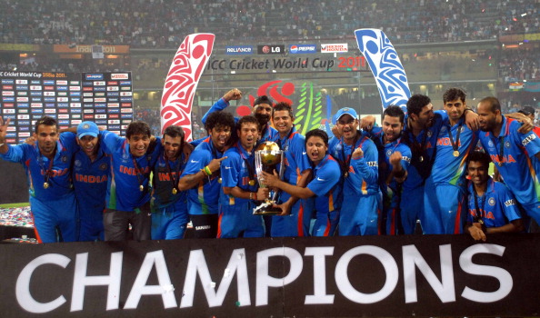 India have won the World Cup twice