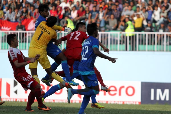 India Nepal World Cup qualifier 2018