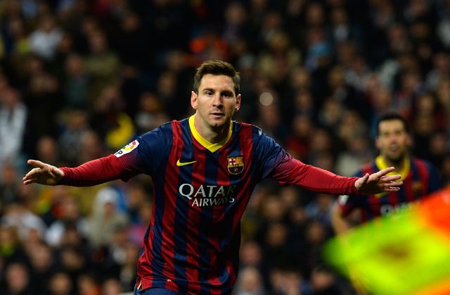 Messi will be a difficult challenge for the Villarreal defence.