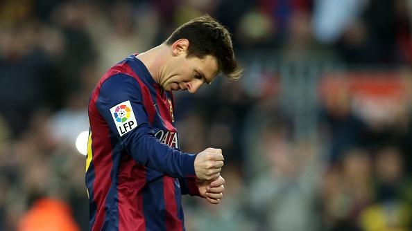 Lionel Messi records hat-tricks La Liga