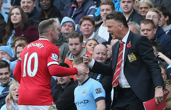 Louis van Gaal Wayne Rooney