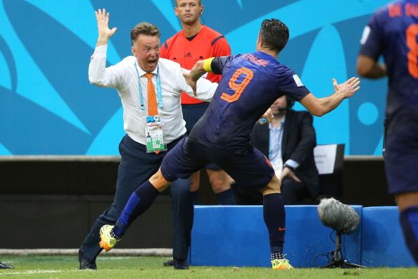 Louis Van Gaal world cup goal RvP