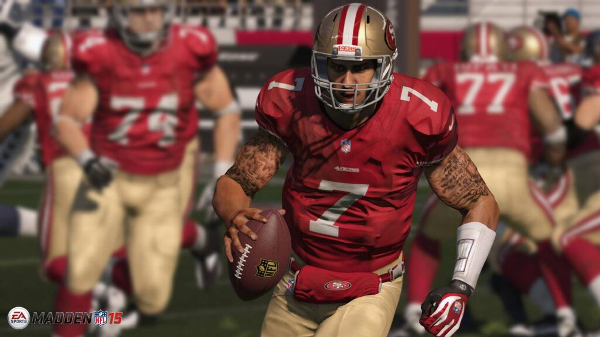 A shot from Madden NFL 15