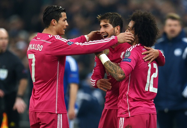 Real Madrid Cristiano Ronaldo Marcelo
