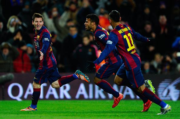Messi goal villarreal