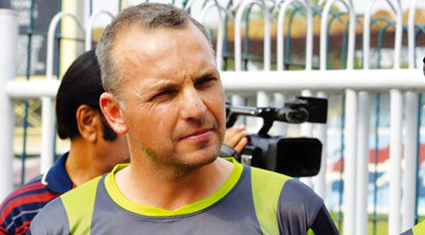 Pakistan fielding coach Grant Luden