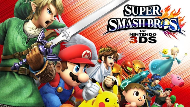 Amiibo Update For Super Smash Bros. For 3DS Released