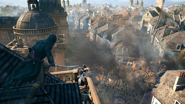 Ubisoft accepts the truth about Assassin's Creed Unity says the game is not