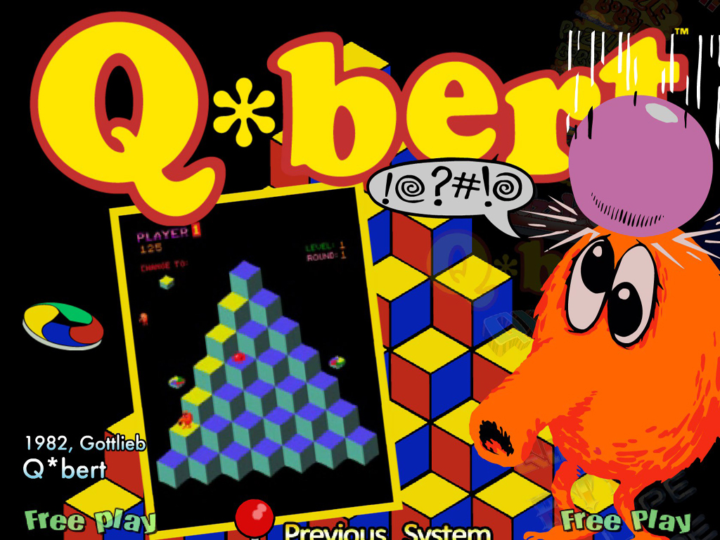 QBert Now Heading To PlayStation