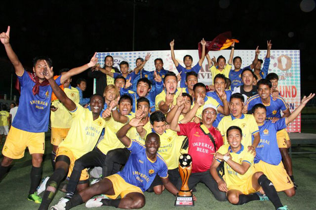 Royal Wahingdoh after qualifying for the I-League