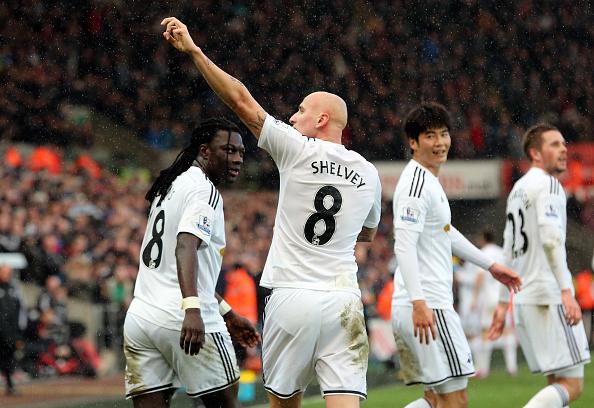 Jonjo Shelvey Swansea Manchester United