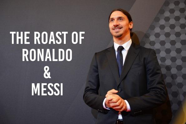 Zlatan host roast