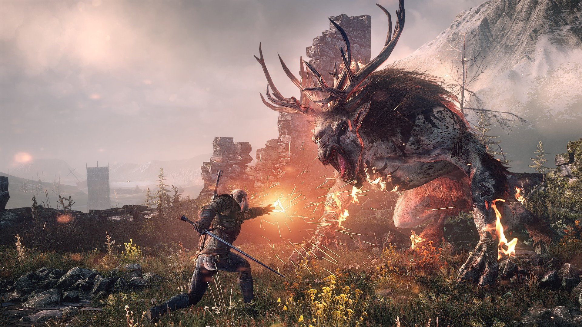 4k Resolution Screenshot Of The Witcher 3 Wild Hunt Revealed
