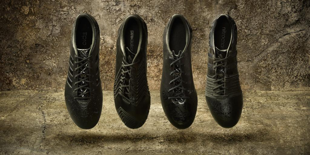 "Adidas ""Black Pack"" 2015 football boots"