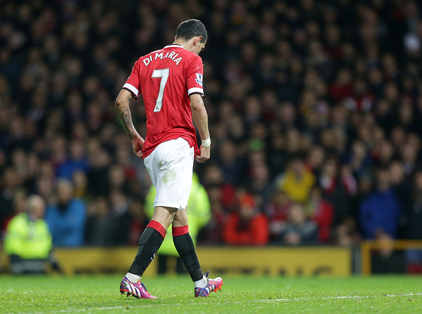 Angel Di Maria Man Utd exit