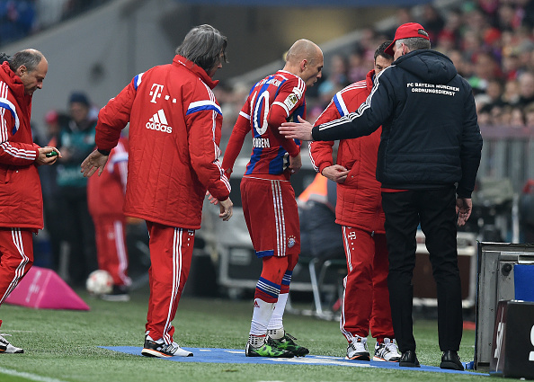 Arjen Robben injury