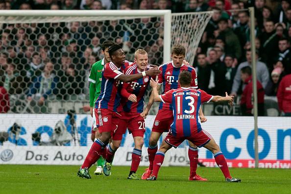 Bayern Munich goal