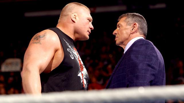 Post image of Брок Леснар и Винс Макмэн разругались после WrestleMania 34