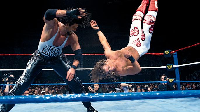 Image result for wrestlemania 11 diesel vs shawn michaels