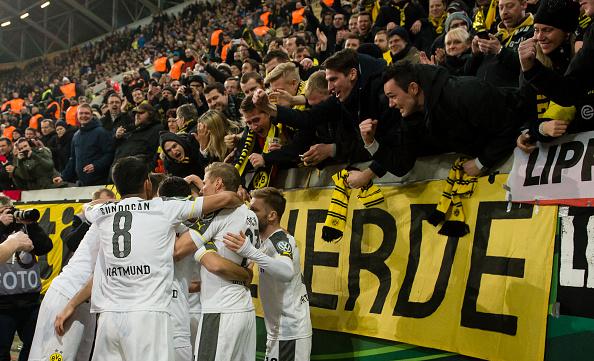 Dortmund Immobile goal DFB Pokal