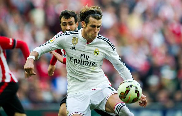 Gareth Bale half line shot