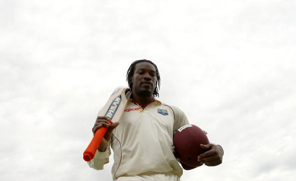 Chris Gayle Test Match