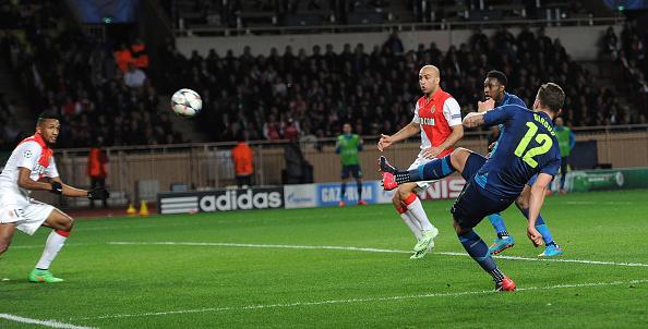 Giroud goal Monaco