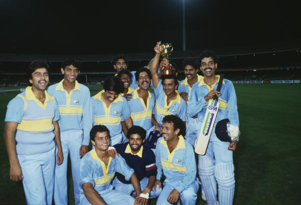 India Cricket Team 1985