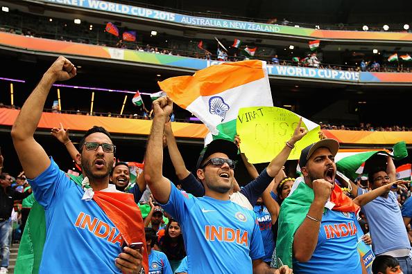 India cricket fans MCG