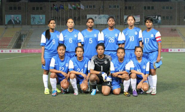india women's football team