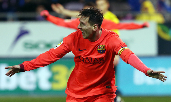Lionel Messi goals Eibar