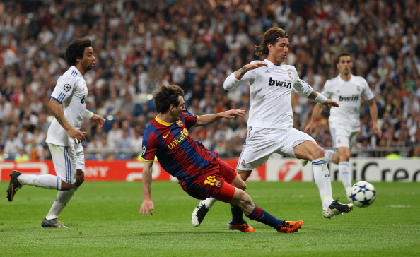 Lionel Messi real madrid 2011